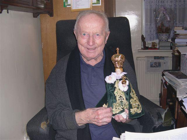 Otec Lang s Jezulátkem