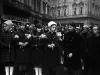 3. The funeral procession through the streets of Prague.Jan Palach was a twenty year old student of Philosophy in Prague when the Russians invaded Czechosolvakia in August 1968.  By January of 1969, he and a group of student friends felt that that nation needed re-awakening' from the fatelistic lethagy that had set in following the invasion. They decided that one of them would set himself on fire as their way of protest.  To choose they picked matches, Jan Palach, as they say in Englished picked the short straw.