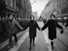 4.The funeral procession through the streets of Prague.Jan Palach was a twenty year old student of Philosophy in Prague when the Russians invaded Czechosolvakia in August 1968.  By January of 1969, he and a group of student friends felt that that nation needed re-awakening' from the fatelistic lethagy that had set in following the invasion. They decided that one of them would set himself on fire as their way of protest.  To choose they picked matches, Jan Palach, as they say in Englished picked the short straw.