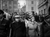 6. The funeral procession through the streets of Prague.Jan Palach was a twenty year old student of Philosophy in Prague when the Russians invaded Czechosolvakia in August 1968.  By January of 1969, he and a group of student friends felt that that nation needed re-awakening' from the fatelistic lethagy that had set in following the invasion. They decided that one of them would set himself on fire as their way of protest.  To choose they picked matches, Jan Palach, as they say in Englished picked the short straw.