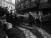 7. The funeral procession through the streets of Prague.Jan Palach was a twenty year old student of Philosophy in Prague when the Russians invaded Czechosolvakia in August 1968.  By January of 1969, he and a group of student friends felt that that nation needed re-awakening' from the fatelistic lethagy that had set in following the invasion. They decided that one of them would set himself on fire as their way of protest.  To choose they picked matches, Jan Palach, as they say in Englished picked the short straw.
