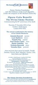 Emma Destin Foundation Concert